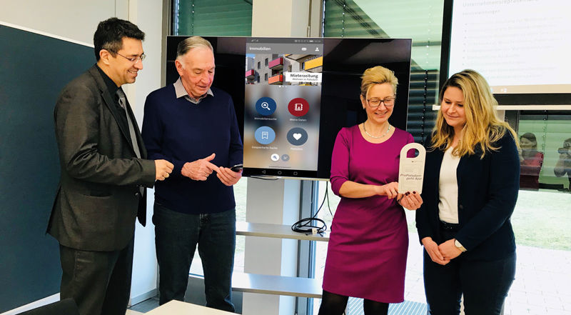 Launch der ProPotsdam Mieter-App powered by easysquare